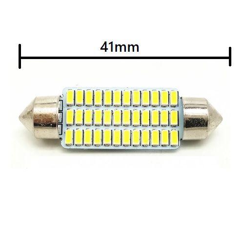 LAMPADA TORPEDO 36 LEDS 41MM 6K