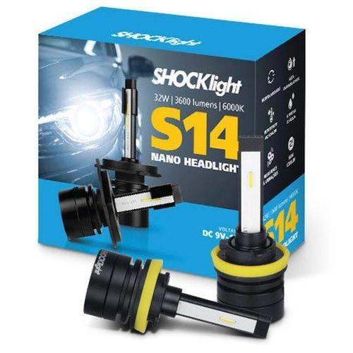 KIT NANO LED H11 7200LM 6K S14 SHOCKLIGHT