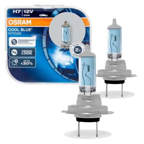PAR LAMPADAS COOL BLUE LIMITED H7 55W 12V OSRAM