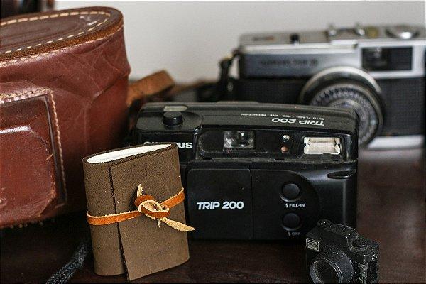 Mini caderno artesanal Bodoque