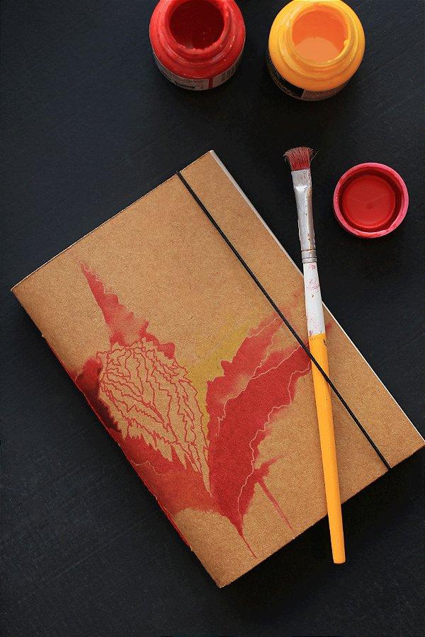 Caderno artesanal a6 - Gabriela Régis