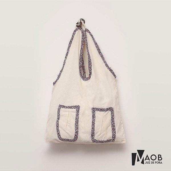 Bolsa artesanal de tecido - MAOB