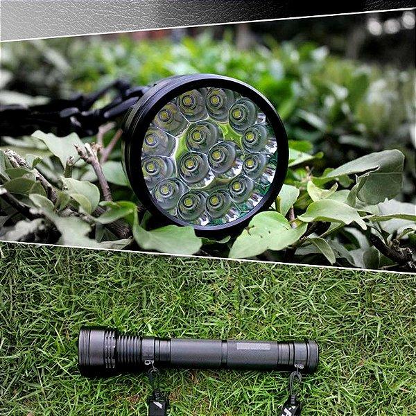 Lanterna Recarregável Ultra Leds Tocha Lanterna Lúmen 150 W Luz Da Cauda Preta