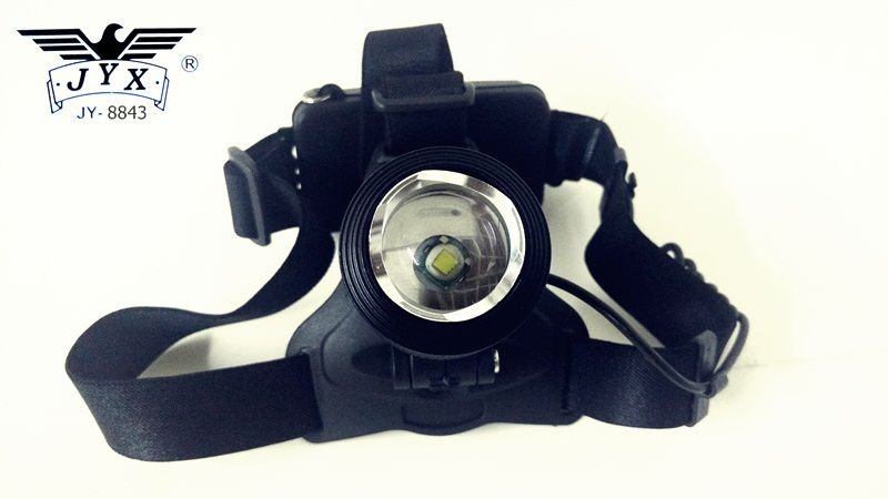 Lanterna de Cabeça Com Led Cree T6 Bateria Litio Para Manutenção, Camping