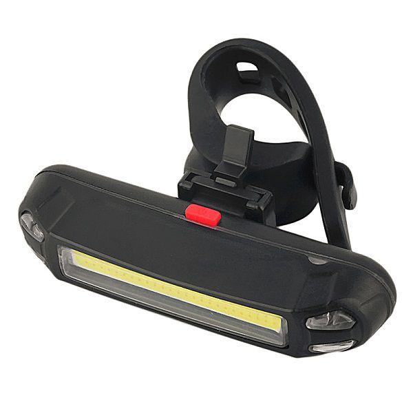 Farol Bike Recarregável JWS 261 Com 100 Lumens 5 Modos de Luz