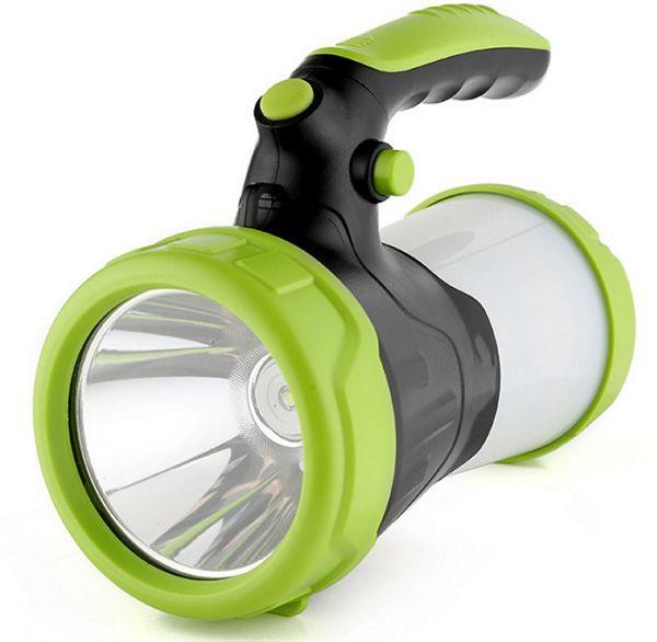 Lampião Lanterna Power Bank Camping Multifuncional