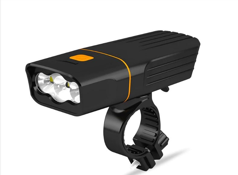 Farol Bike TK 3 Cree Led Dianteiro 3 Modos de Luz Ultra Forte Potente
