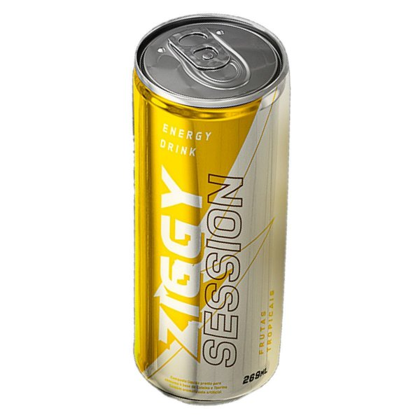 ENERGÉTICO ZIGGY ENERGY DRINK FRUTAS TROPICAIS 269ml