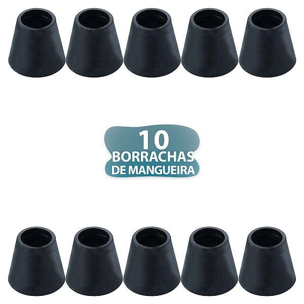 10 BORRACHA PRETA DE MANGUEIRA PARA NARGUILE