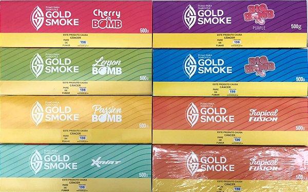 PACK COM 10 ESSÊNCIAS GOLD SMOKE 50g