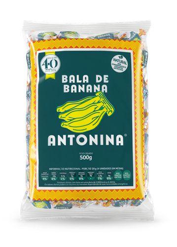 BALA DE BANANA -  PACOTE 500g