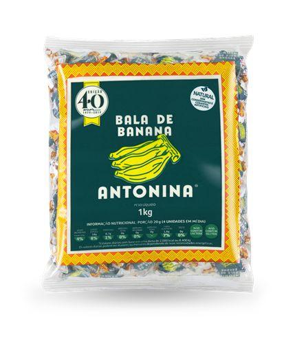 BALA DE BANANA -  PACOTE 1kg