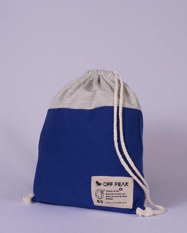 Mochila Saco Sport Azul