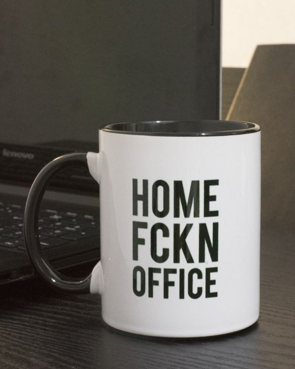 "Caneca Home ""Fckn"" Office"