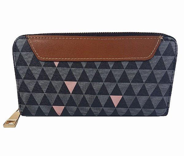 Carteira Bag Dreams Triangle Preta