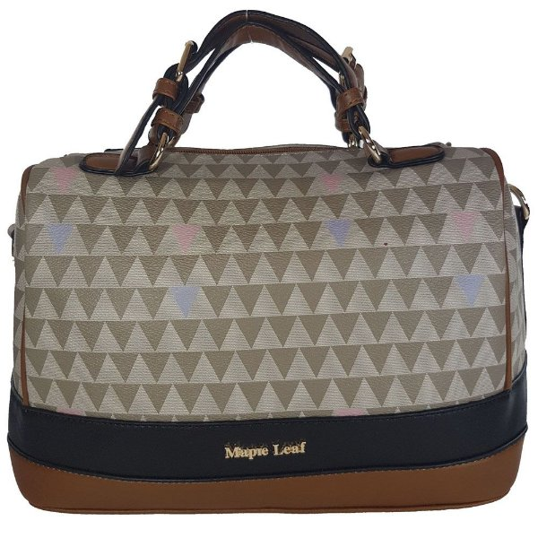 Bolsa Bag Dreams Triangle Baú Cinza