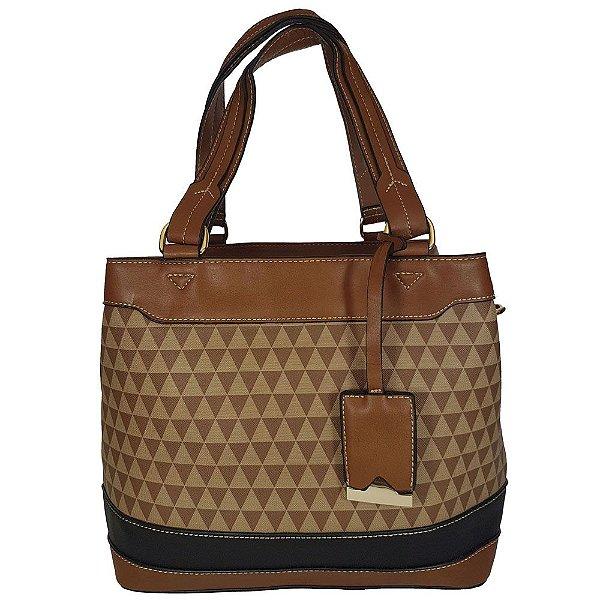Bolsa Bag Dreams Ombro Triangle Marrom