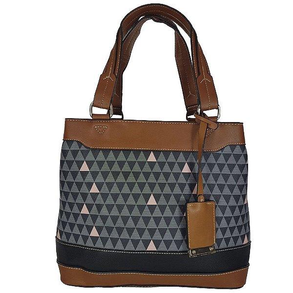 Bolsa Bag Dreams Ombro Triangle Preta