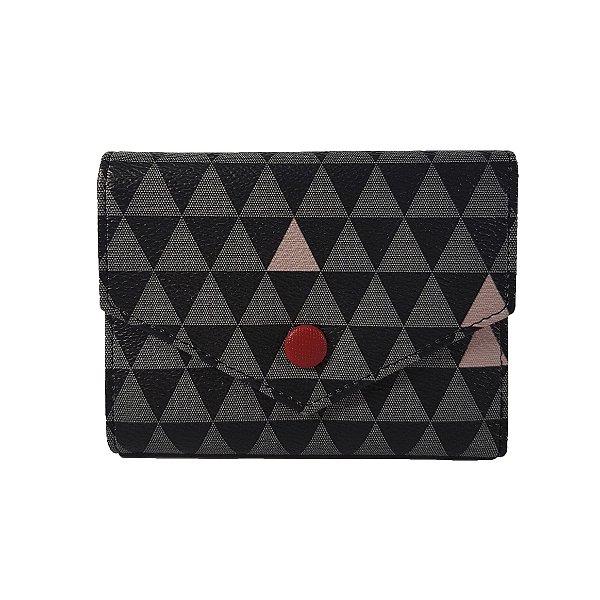 Mini Carteira Bag Dreams Triangle Preta