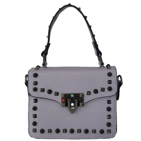 Bolsa Bag Dreams Lolly Com Spikes Lilás