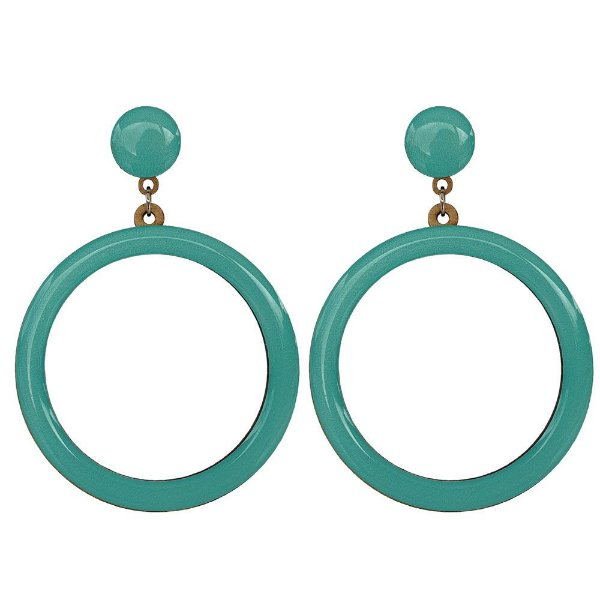 Brincos Bag Dreams Malibu Azul Tiffany