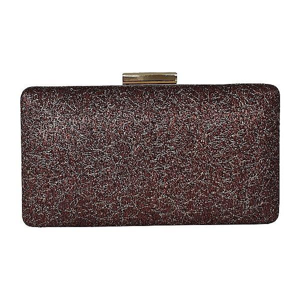 Bolsa Bag Dreams Clutch Lana Vinho