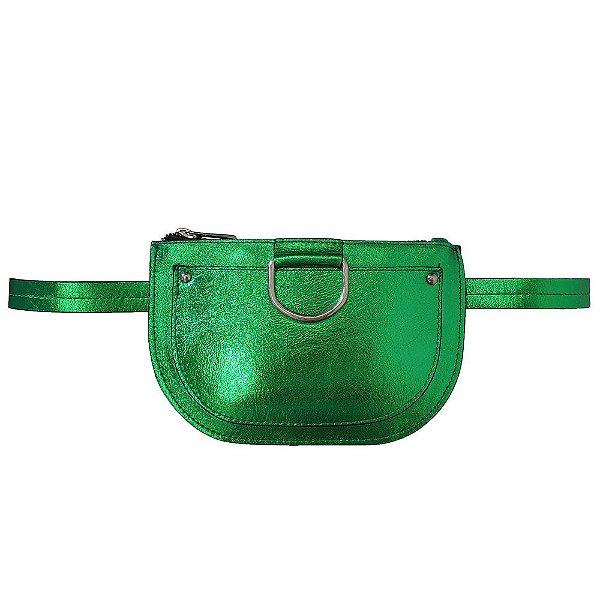 Pochete Bag Dreams Metalizada Verde