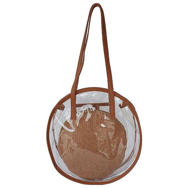 Bolsa Bag Dreams De Praia Com Necessaire Transparente