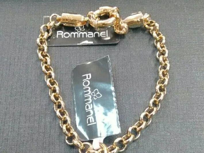 PULSEIRA ROMMANEL FORMADA POR FIO ELO PORTUGUES 550399