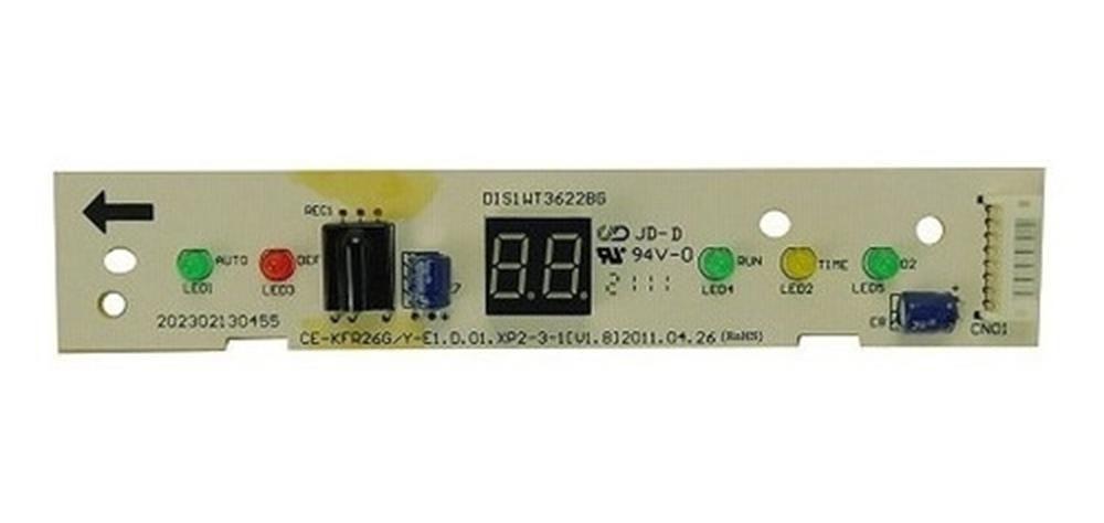Placa indicadora display midea 201332390226 830208046