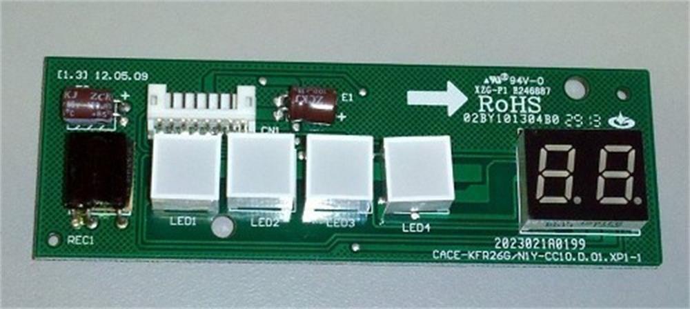 Placa eletronica display quente fria 42luqc07/09/12