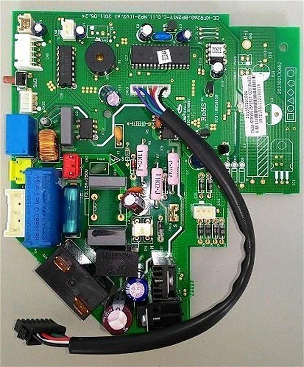 Placa eletronica inverter 12000 btus quente fria 20133259058