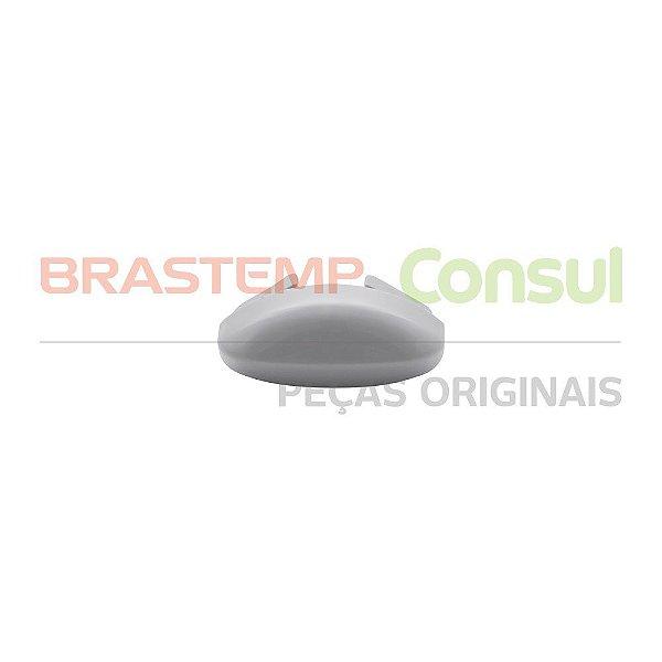Acamento do puxador do forno cinza Brastemp 326021469