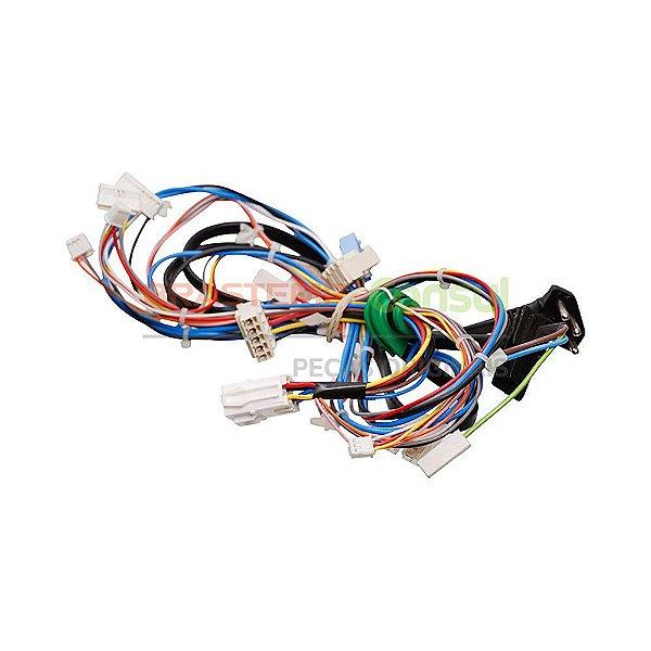 Rede eletrica superior bivolt lavadora Brastemp W10636784