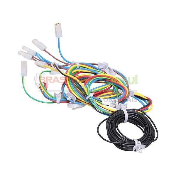 Rede elétrica inferior bivolt lavadora Brastemp Consul W10707163