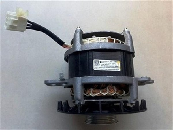 Conjunto motor polia 1/4CV 127V AL lavadora Brastemp Consul - Conjunto motor polia 1/4CV 127V AL lavadora Brastemp Consul W10493196