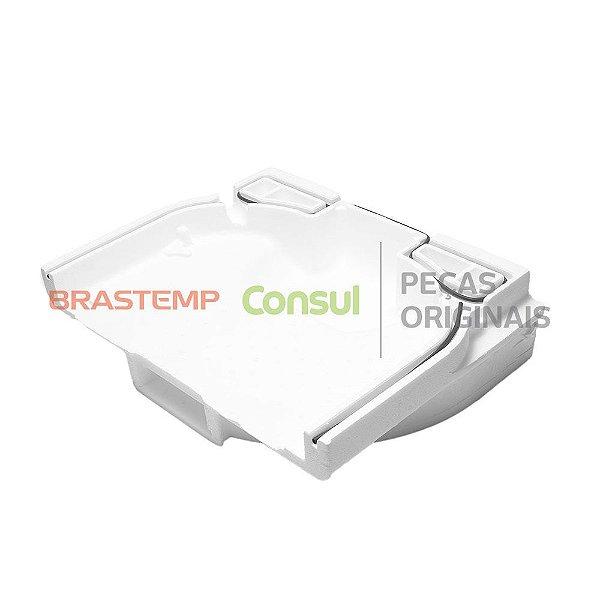 Capa traseira evaporador Damper Botton   W10364953