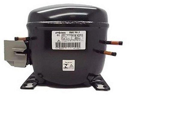 Compressor Embraco 1/5 127/60R134 EGAS70HLR W10330848 - Compressor Embraco 1/5 127/60R134 EGAS70HLR W10330848