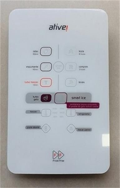 Placa interface para refrigerador Brastemp  W10887444