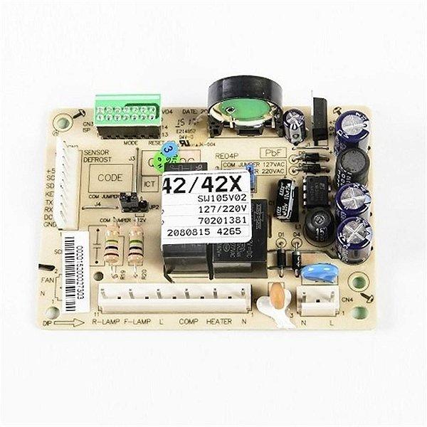 Placa de potência para refrigerador DF42 Eletrolux 70201381