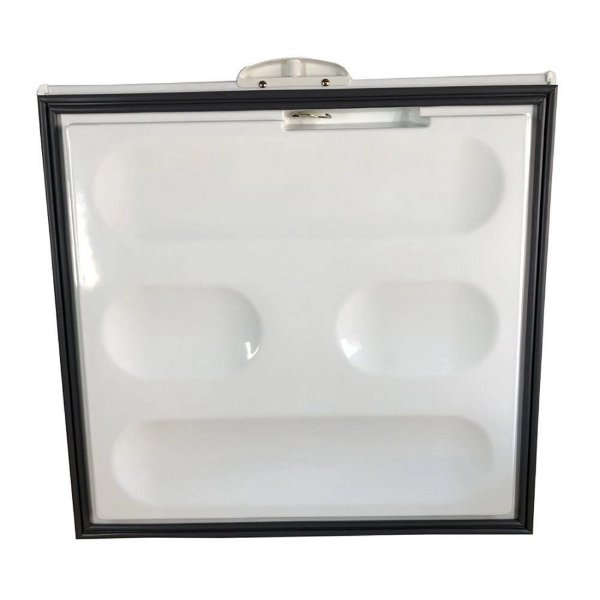 Tampa freezer horizontal metalfrio HC6 DA55 c/puxador branco 090139T459