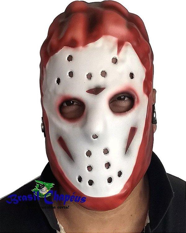 Máscara-do-Jason-Eva-emborrachado-Fabricação-própria