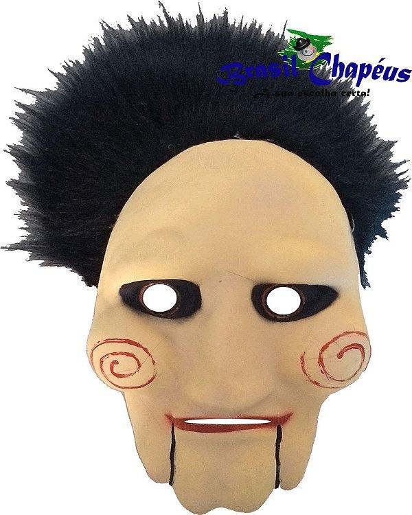 Máscara Jogos Mortais emborrachada-de-Eva-Fabricação-própria