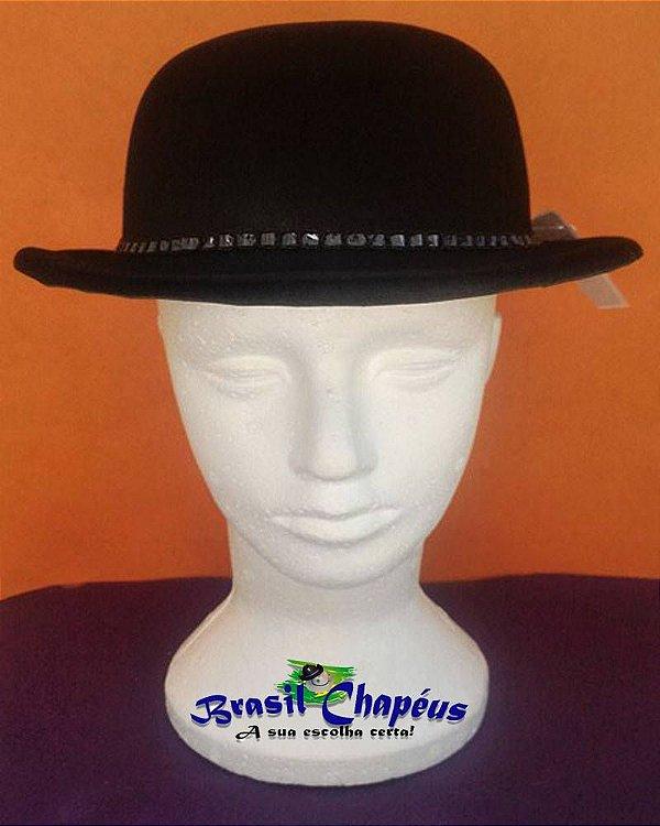 Chapéu-Coquinho-de-E.v.a-Aveludado-Luxo-Fabricação-Própria