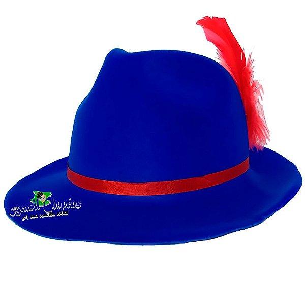 Chapéu Tirolês de E.v.a Aveludado luxo-Fabricação Própria