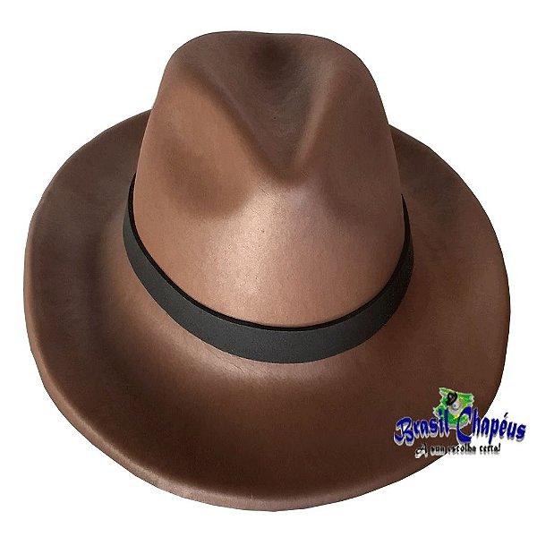 Chapéu Indiana Jones de E.V.A Fabricação Própria - Brasil Chapéus 6747e070e00