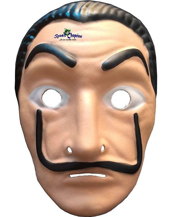 Máscara La Casa De Papel - Salvador Dali - de E.V.A -Adulto e Infantil- FABRICAÇÃO PRÓPRIA
