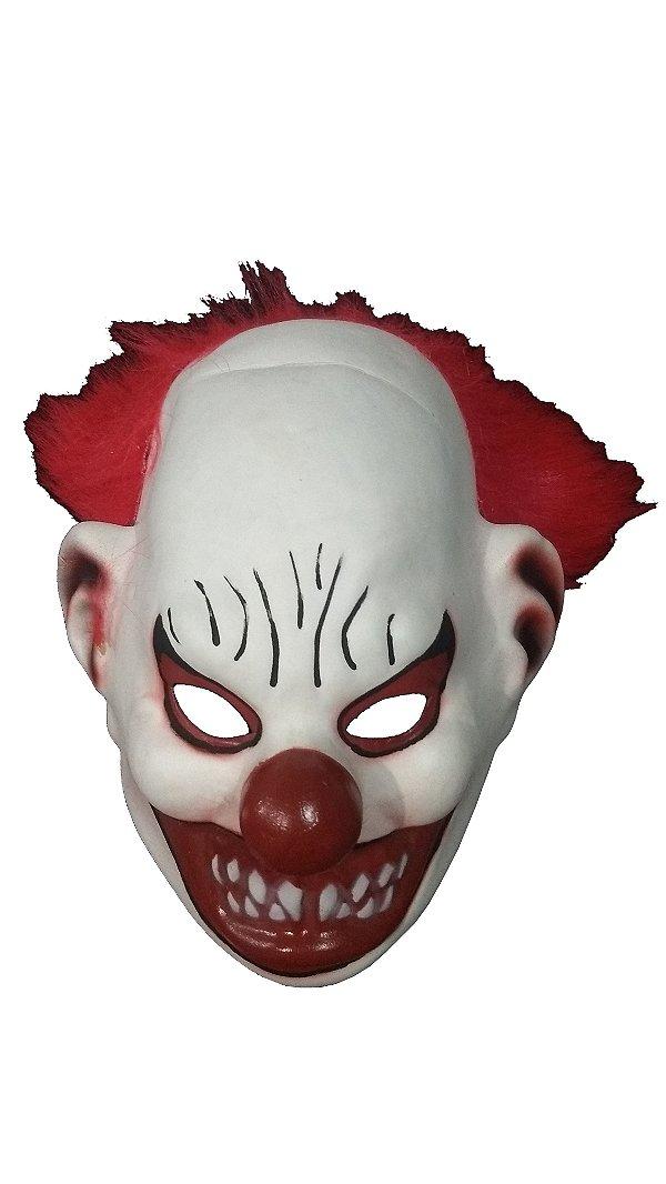 Máscara Palhaço Cínico de Eva emborrachada -Fabricação Própria