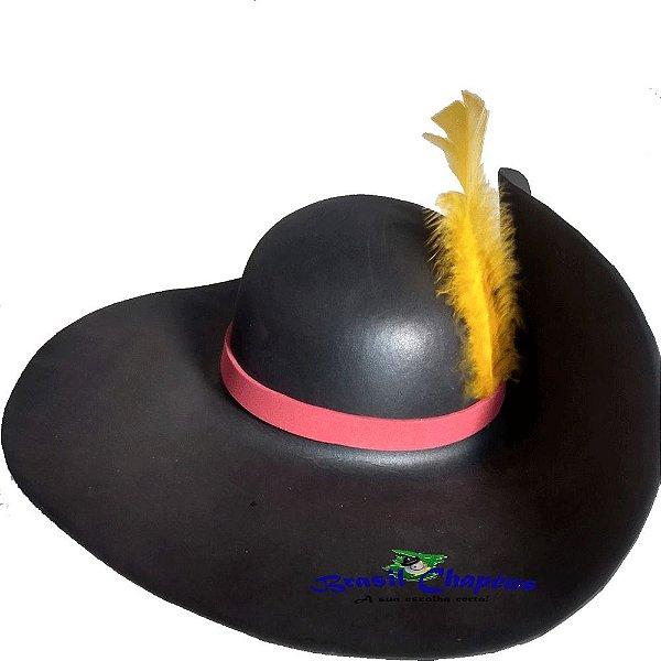 415373d913390 Chapéu Mosqueteiro de E.v.a - Fabricação Própria - Brasil Chapéus