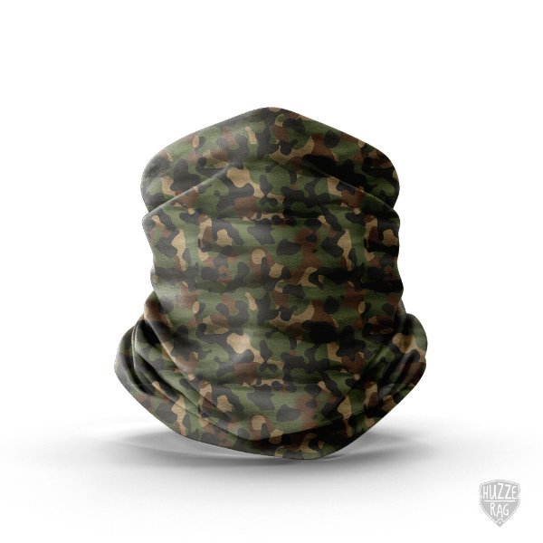 Bandana Tubular Huzze-Rag Camuflada Mato